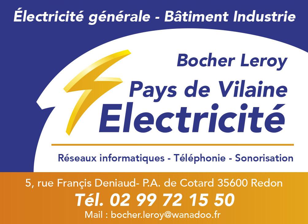 PAYS DE VILAINE ELECTRICITE-ENSEIGNE